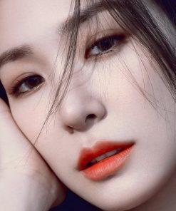 Son Gucci Rouge à Lèvres Voile Màu 302 Agatha Orange - Cam Đỏ 9