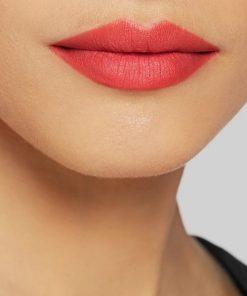 Son Gucci Rouge à Lèvres Voile Màu 500 Odalie Red - Ðỏ Cam 7