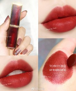 Son Tom Ford Màu 27 Shameless - Ðỏ Gạch 7