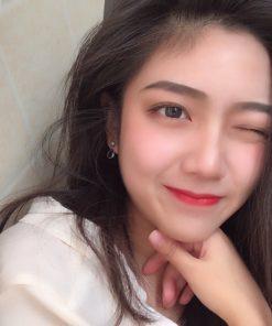 Son Lì Christian Louboutin 600M Miss Loubi Màu Hồng Cam Ðào 8