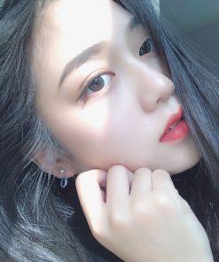 Son Lì Christian Louboutin 600M Miss Loubi Màu Hồng Cam Ðào 7
