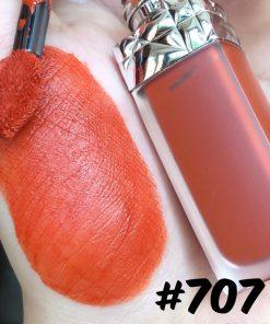 Son Kem Dior Rouge Ultra Care Liquid Màu 707 Bliss - Cam Cháy 5