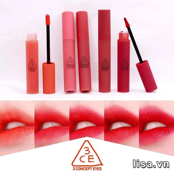 Son tint 3CE Smoothing Lip Tint