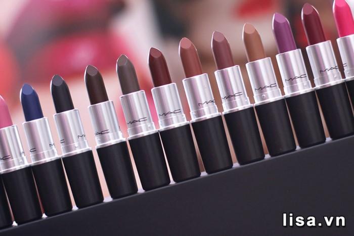 Review son MAC Matte Lipstick