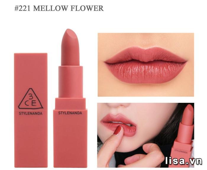Son 3CE Matte Lip Color màu 221