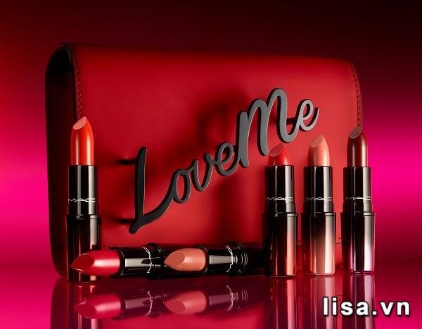 Son MAC Love Me Lipstick sở hữu thiết kế nhỏ gọn