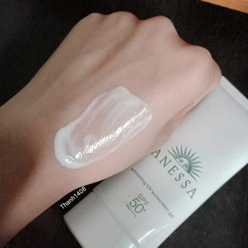 Kem Chống Nắng Anessa Whitening UV Sunscreen Gel SPF50+/PA++++ 5