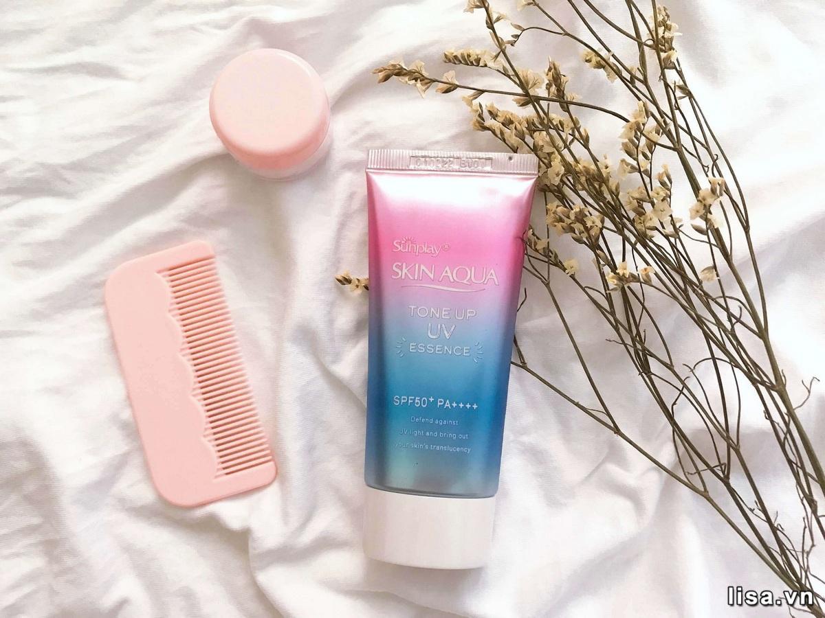 Kem chống nắng Rohto Skin Aqua Tone Up Essence bán khá chạy tại thị trường Việt