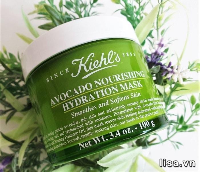 Sử dụng Mặt nạ Kiehl's Avocado Nourishing Hydration Mask hàng tuần để đạt hiệu quả tốt nhất