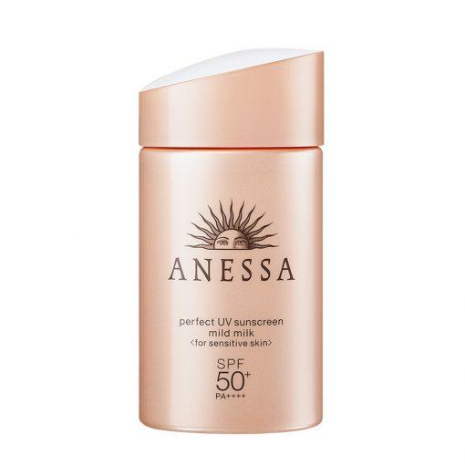Sữa Chống Nắng Anessa Perfect UV Sunscreen Skincare Milk SPF50+/PA++++ 1