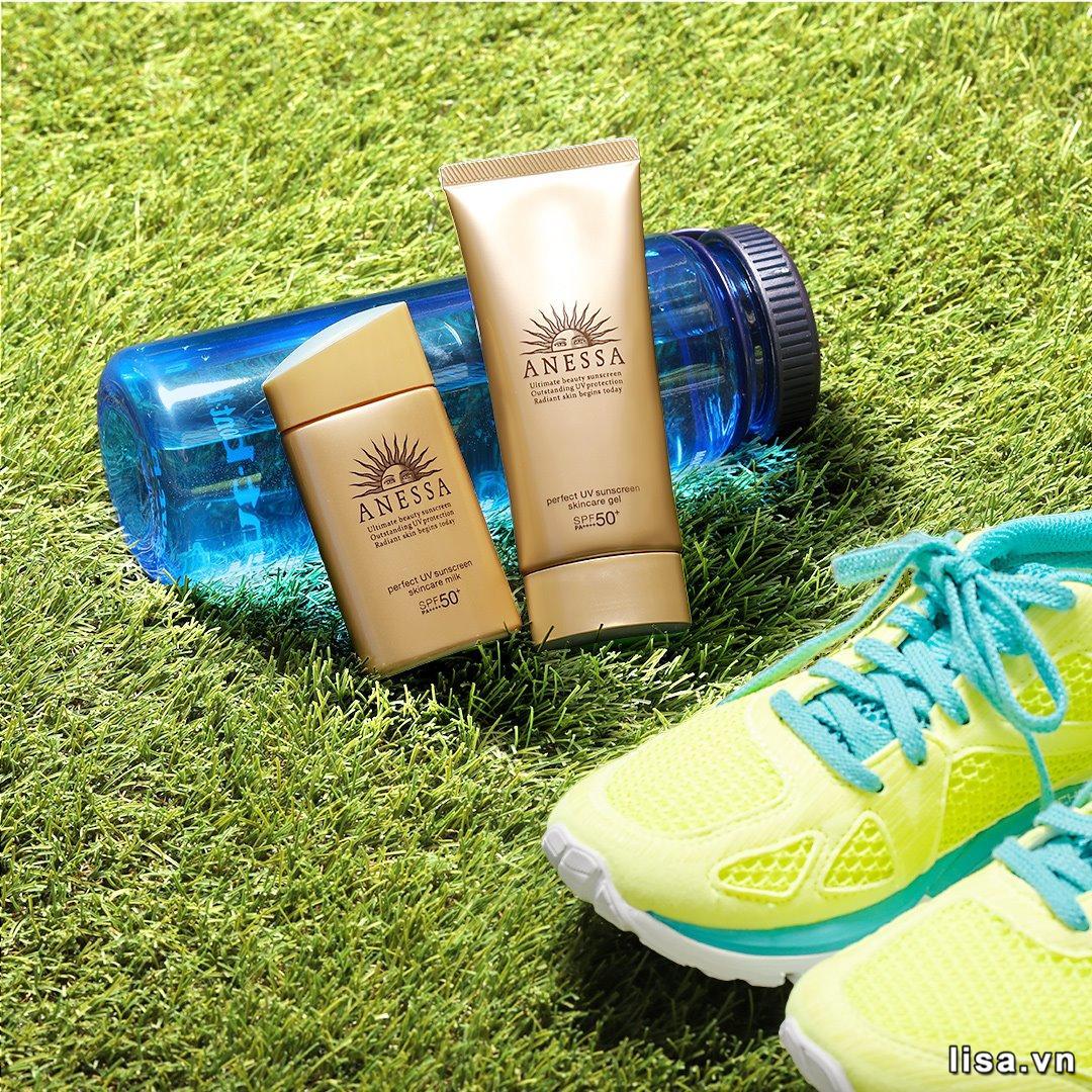 Sữa chống nắng Anessa Perfect UV Sunscreen Skincare Milk SPF50+/PA++++ được sản xuất trên công nghệ độc quyền của Anessa