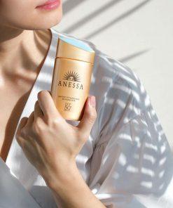 Sữa Chống Nắng Anessa Perfect UV Sunscreen Skincare Milk SPF50+/PA++++ 7