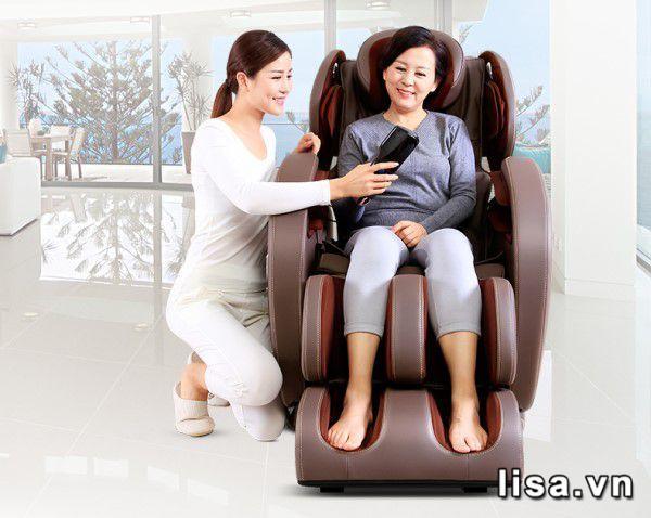 Ghế massage - món quà tặng 20/10 ý nghĩa & thiết thực