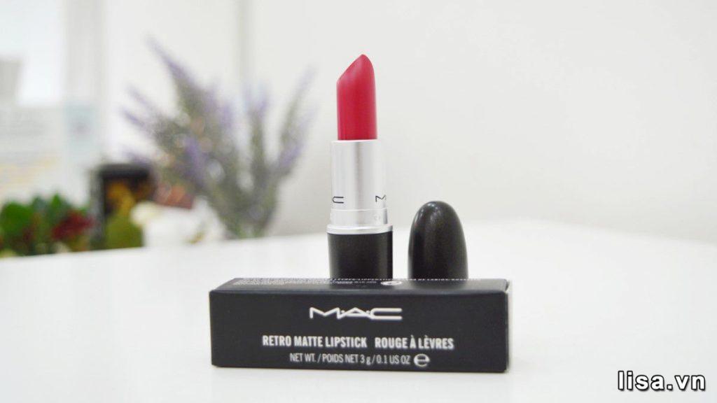 Review Son MAC Retro Matte Lipstick - Dòng Son Siêu Lì Trứ Danh