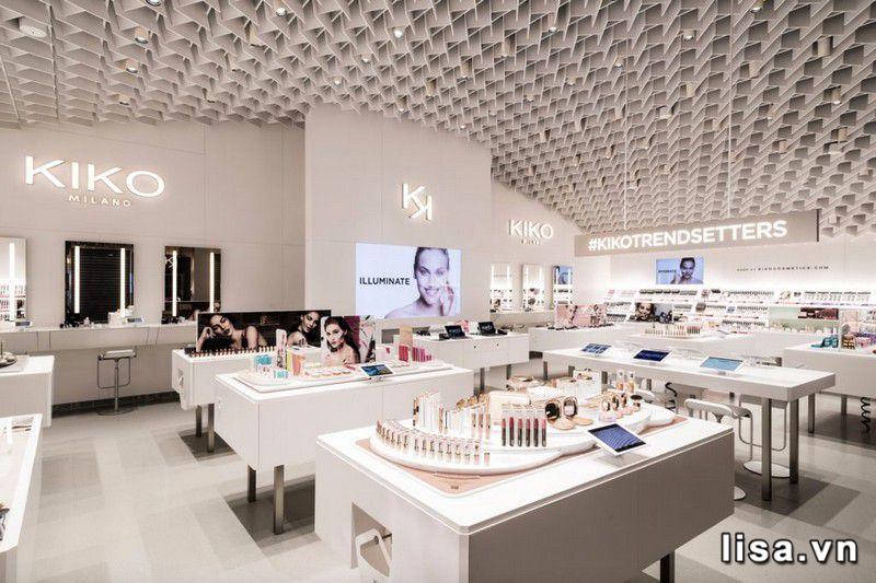 Một góc store của Kiko Milano