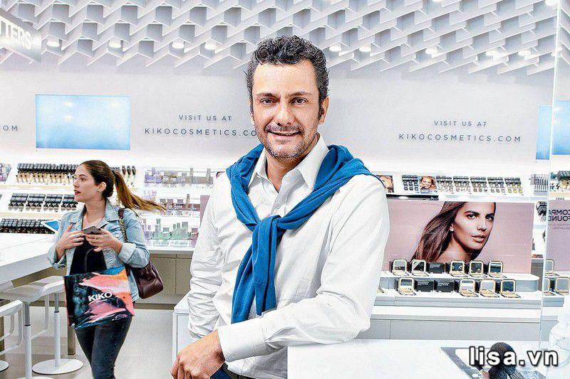 Percassi – Người đàn ông lịch lãm sáng tạo nên thương hiệu Kiko Milano