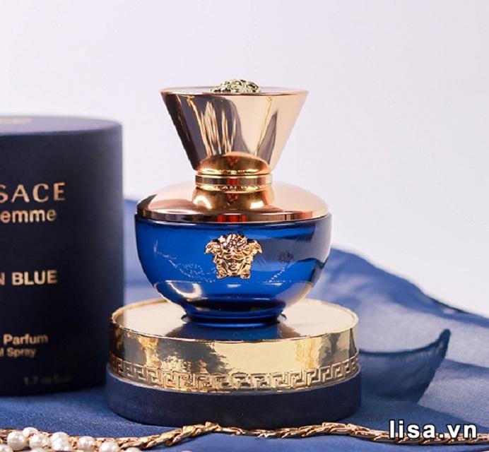 Chai nước hoa nữ thơm lâu Versace Dylan Blue Pour Femme EDP bền mùi lên đến 12 tiếng