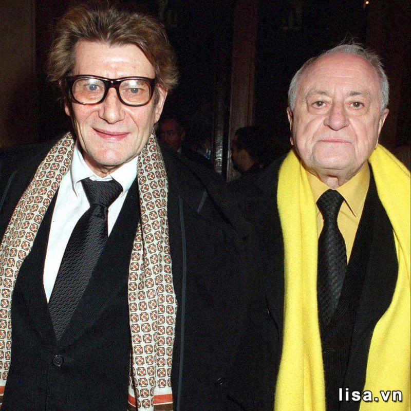 Yves Saint Laurent và Pierre Bergé – Hai nhà sáng lập nên thương hiệu YSL