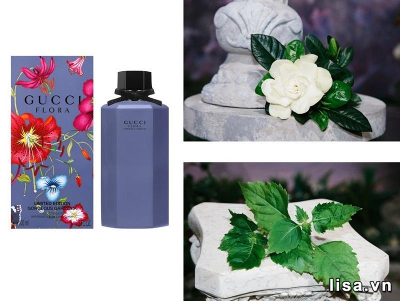 Gucci Flora Limited Edition Gorgeous Gardenia mang đến cho bạn hương thơm thanh lịch, nữ tính