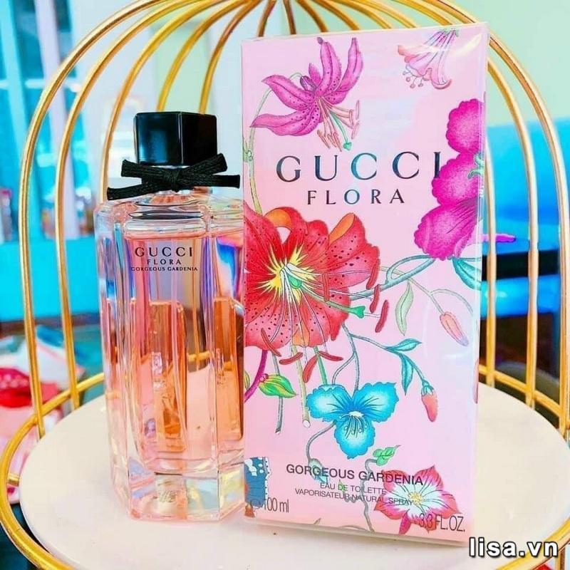 Gucci Flora Gorgeous Gardenia EDT chai nước hoa mùi kẹo ngọt cho nữ ngọt dịu hương kẹo trái cây