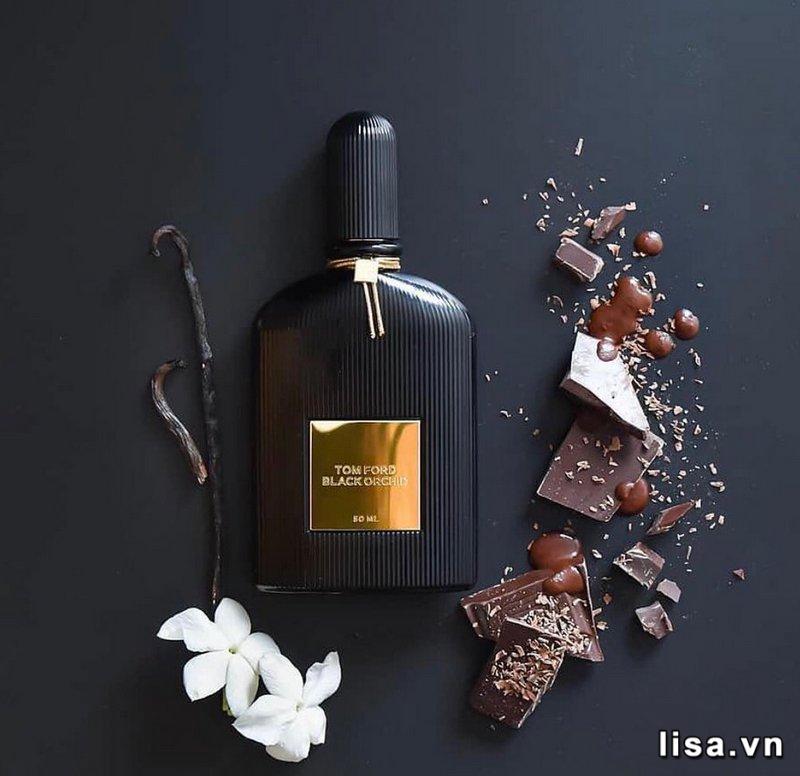 Tom Ford Black Orchid - chai nước hoa mùi ngọt cho nam có hương kẹo chocolate nam tính