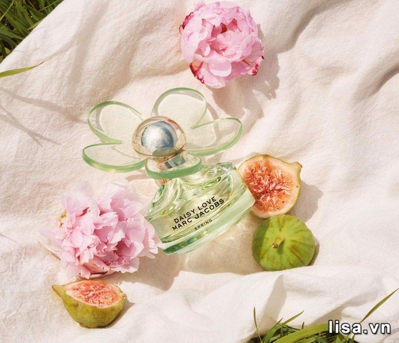 Marc Jacobs Daisy Spring Eau De Toilette phảng phất hương thơm hoa cỏ tươi mátđầy mê hoặc